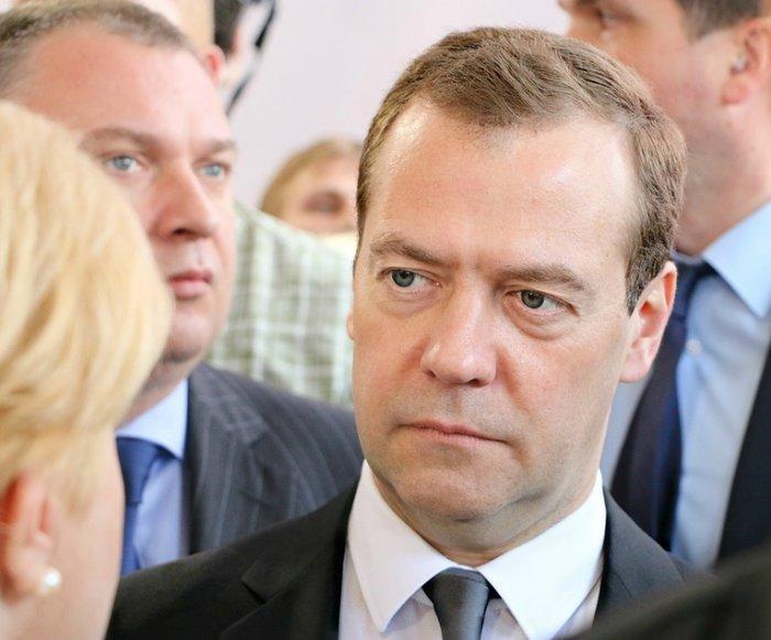 Граждане оценили деятельность Медведева
