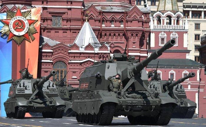 Россия вошла в тройку сильнейших армий в мире