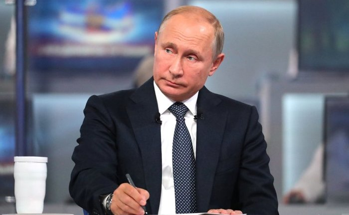 «Прямая линия» - 2019: как задать вопрос Путину?